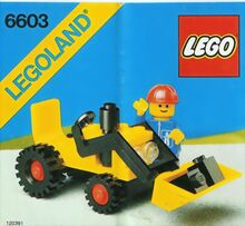 Vintage Shovel Truck, Lego, Creations4you, City, Worcester