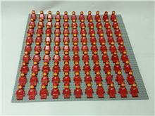 Vintage Space Set - 99 Minifigures, red Lego