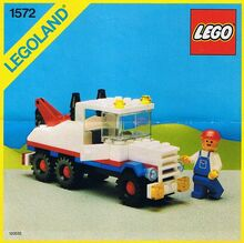 Vintage Super Tow Truck, Lego, Creations4you, City, Worcester