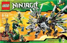 Epic Dragon Battle, Lego 9450, Christos Varosis, NINJAGO, Serres