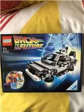 Back to the future car, Lego 21103, Thomas Dempsey, Ideas/CUUSOO