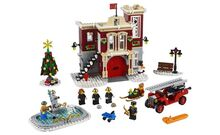 Winter Village Fire Station, Lego 10263, Creations4you, Creator, Worcester