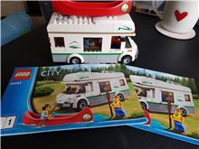 Camper Van , Lego 60057, WayTooManyBricks, City, Essex