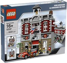 WTS Lego 10197, Lego Lego 10197 Fire Brigade, Jun Wei William Tan, Modular Buildings, Singapore