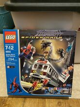 2004 Spider-Man's Train Rescue, Lego 4855, Christos Varosis, Super Heroes