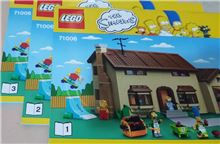 Simpsons house 71006 as new, Lego 71006, John kerr, Town, GROVEDALE