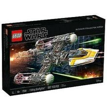 Y-wing Starfighter, Lego 75181, Creations4you, Star Wars, Worcester