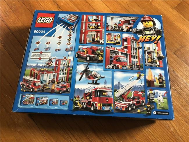 2013 City Fire Station, Lego 60004, Christos Varosis, City, Image 2