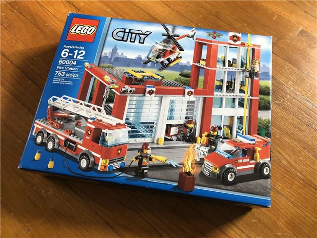 2013 City Fire Station, Lego 60004, Christos Varosis, City