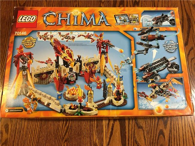 2014 Chima Flying Phoenix Fire Temple, Lego 70146, Christos Varosis, Legends of Chima, Image 2
