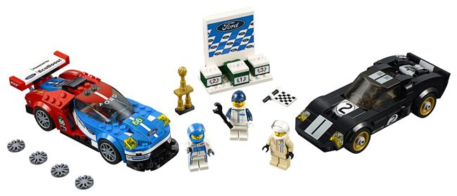 2016 Ford GT & 1966 Ford GT40, Lego 75881, spiele-truhe (spiele-truhe), Speed Champions, Hamburg, Image 3