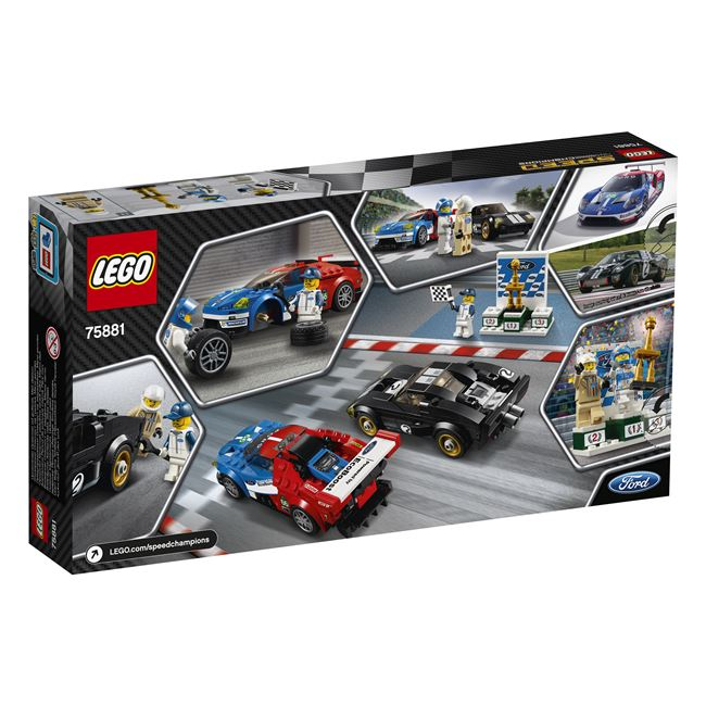 2016 Ford GT & 1966 Ford GT40, Lego 75881, spiele-truhe (spiele-truhe), Speed Champions, Hamburg, Image 2