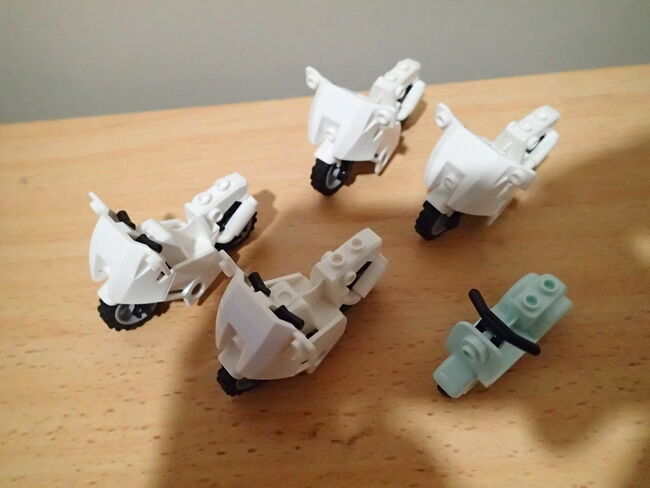 5x Lego Motorbikes (in good condition) $20 for the lot!!, Lego, Jordan Phillis, City, Petrie, Image 2
