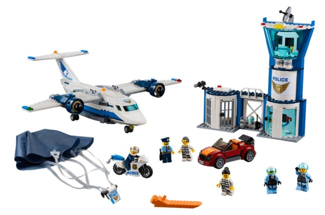 60210 - Sky Police Air Base, Lego 60210, Rakesh Mithal, City, Fourways , Image 2