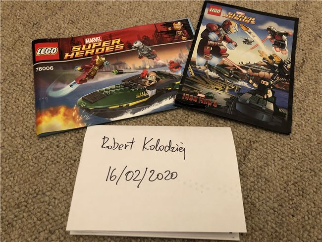 76006 Iron Man Extremis Sea Port Battle (Incomplete), Lego 76006, Robert Kolodziej, Super Heroes, Swindon, Image 5