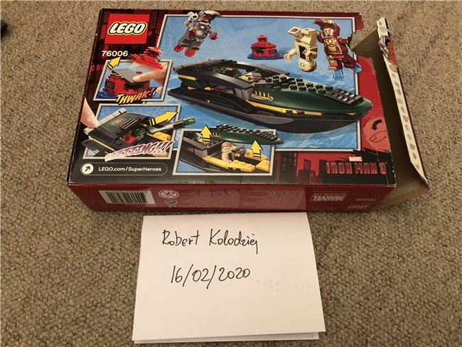76006 Iron Man Extremis Sea Port Battle (Incomplete), Lego 76006, Robert Kolodziej, Super Heroes, Swindon, Image 4