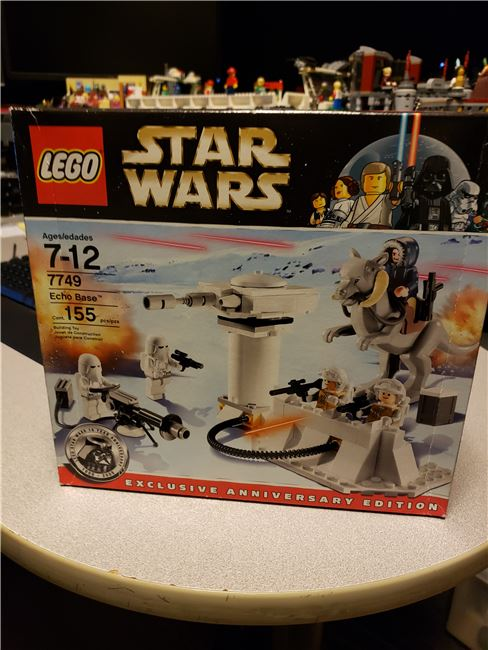 7749 sealed , Lego 7749, Mike Fedoruk , Star Wars, Leduc