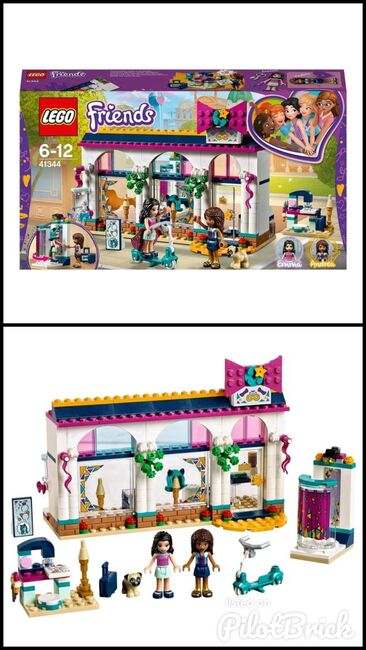 Andrea's Accessories store, Lego 41344, Stacey Lote, Friends, Tipton, Image 3