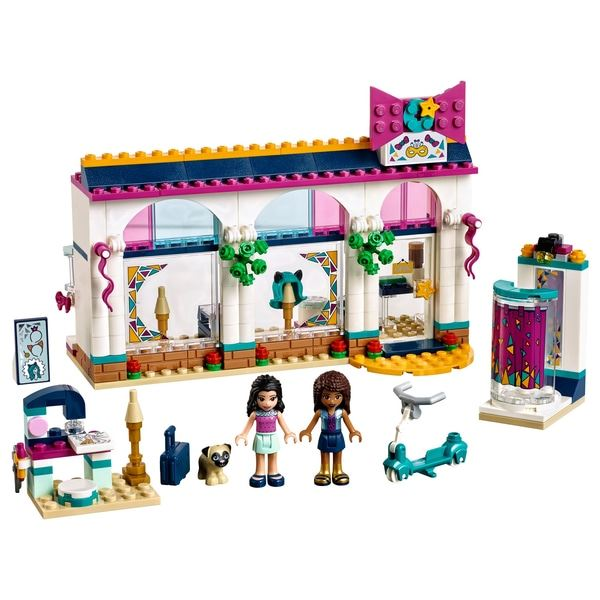 Andrea's Accessories store, Lego 41344, Stacey Lote, Friends, Tipton, Image 2