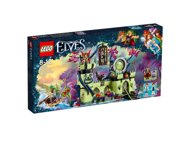 Breakout from the Goblin King's Fortress, LEGO 41188, spiele-truhe (spiele-truhe), Elves, Hamburg