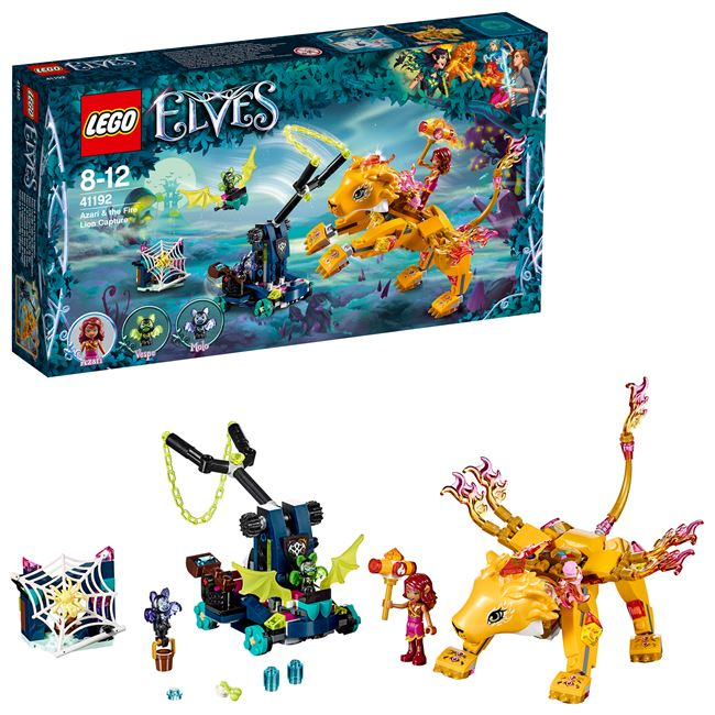 Azari & the Fire Lion Capture, LEGO 41192, spiele-truhe (spiele-truhe), Elves, Hamburg, Abbildung 3