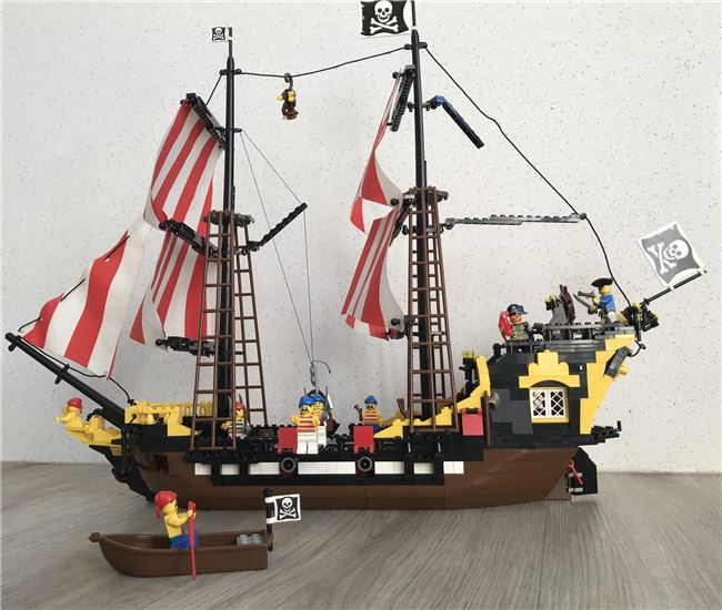 Black Seas Barracuda Lego set 6285, Lego 6285, Rob Bell, Pirates, Newcastle , Image 2