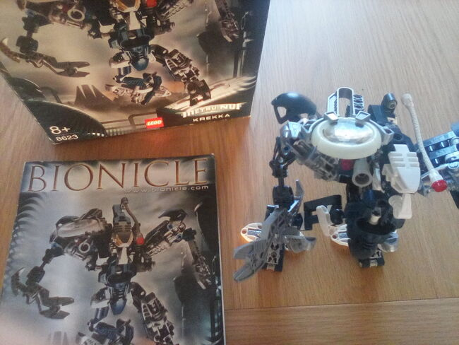 Bonicle  Krekka 2004  figure, Lego 8623, Jackie Brown, Bionicle, Windsor