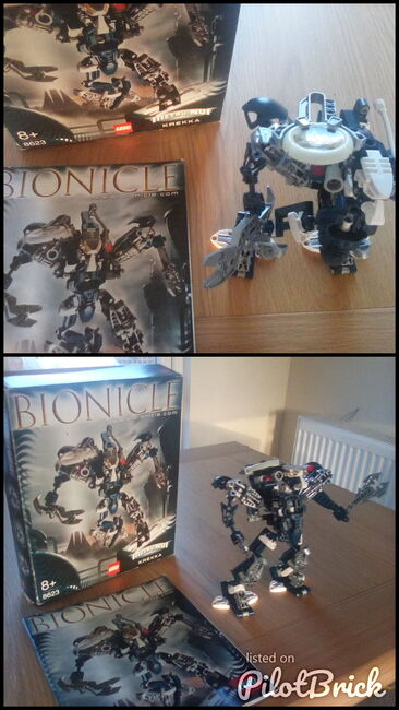 Bonicle  Krekka 2004  figure, Lego 8623, Jackie Brown, Bionicle, Windsor, Image 3
