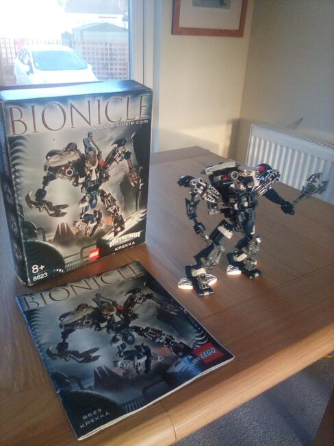 Bonicle  Krekka 2004  figure, Lego 8623, Jackie Brown, Bionicle, Windsor, Image 2