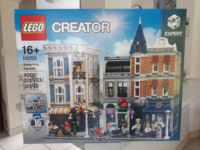 Creator Assembly Square., Lego 10255, Paul Firstbrook , Modular Buildings, Bergvliet, Cape Town.