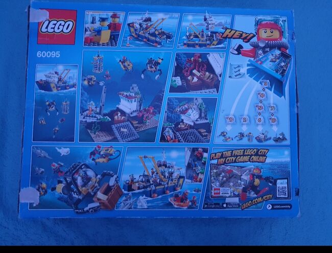 Deep sea exploration ship ***Discounted retired product****, Lego 60095, Anna, City, Peterborough, Image 2