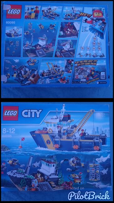 Deep sea exploration ship ***Discounted retired product****, Lego 60095, Anna, City, Peterborough, Image 3