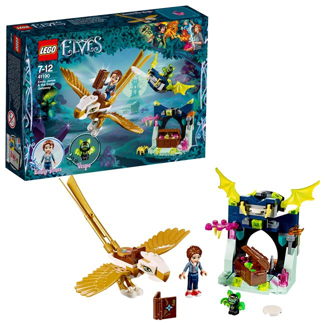 Emily Jones & the Eagle Getaway, LEGO 41190, spiele-truhe (spiele-truhe), Elves, Hamburg, Abbildung 3