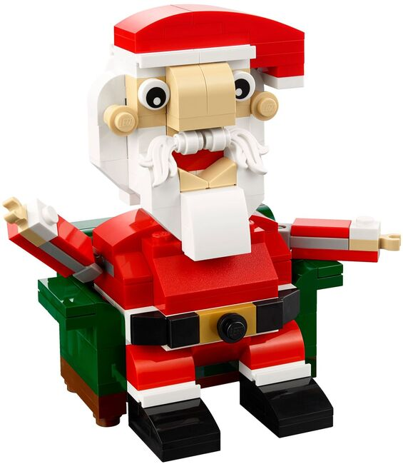 Exclusive Holiday Santa, Lego, Creations4you, BrickHeadz, Worcester, Image 2
