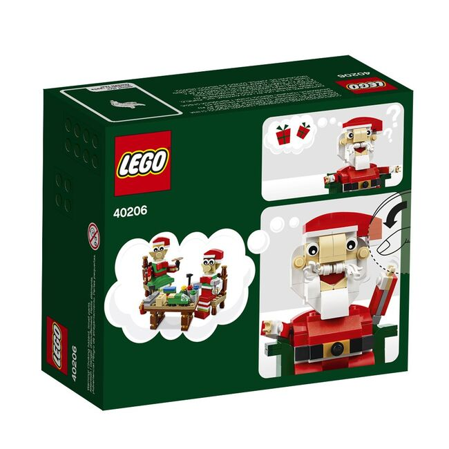 Exclusive Holiday Santa, Lego, Creations4you, BrickHeadz, Worcester, Image 3