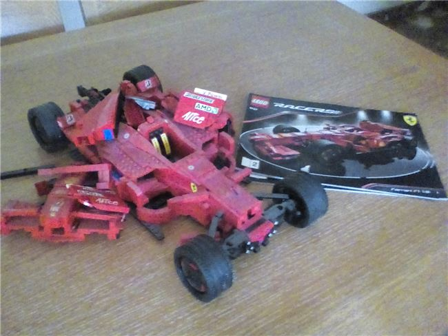 Ferrari f1 / Racer Spider / Technic Rescue Helicopter / Creator, Lego 8157 / 8671 / 8046 / 6743 , Letta , Racers, Athens, Image 2