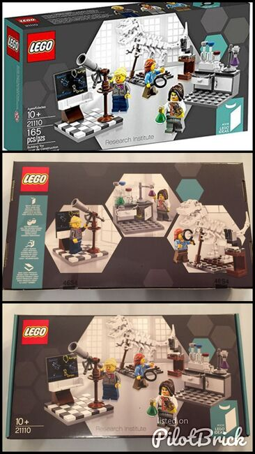 Research Institute, Lego 21110, Gohare, Ideas/CUUSOO, Tonbridge, Abbildung 4