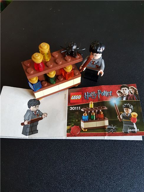 Harry Potter The Lab, Lego 30111, WayTooManyBricks, Harry Potter, Essex