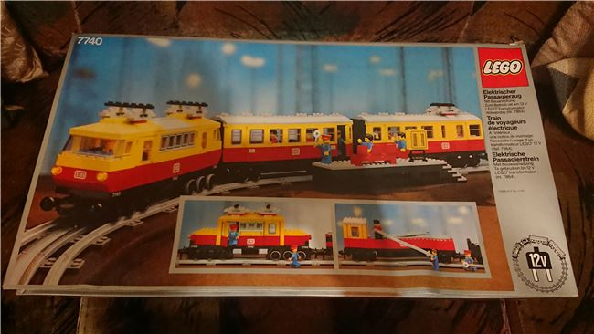 Inter-City Passenger Train, Lego 7740, PeterM, Train, Johannesburg, Image 2
