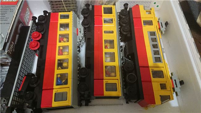 Inter-City Passenger Train, Lego 7740, PeterM, Train, Johannesburg, Image 4