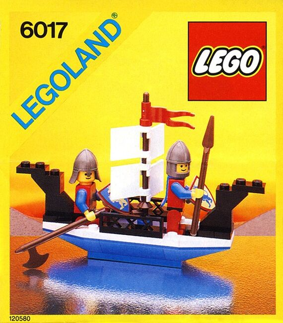 King's Oarsmen, Lego 6017, Creations4you, Castle, Worcester