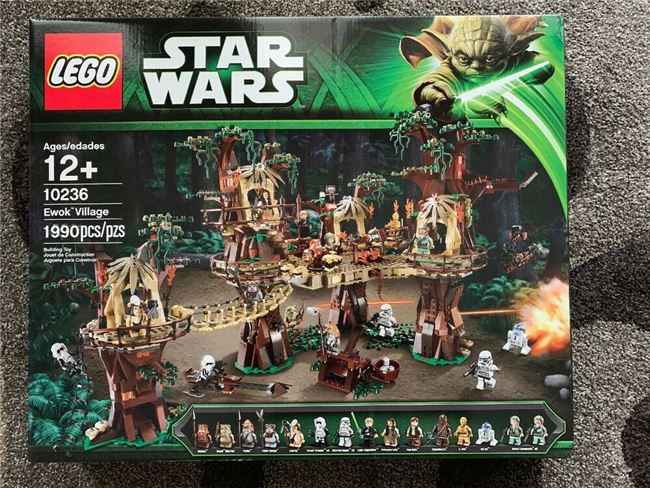 Lego 10236 Ewok Village, Lego 10236, Brickworldqc, Star Wars