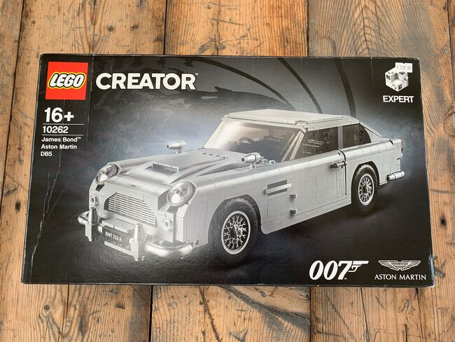 ᐅ Neu Nib Set Lego 10262 Creator Expert James Bond Aston Martin Db5 Von Black Frog Pilotbrick At