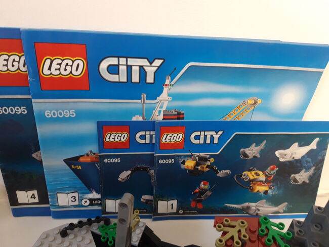 LEGO City Deep Sea Exploration Vessel (60095) 100% Complete retired, Lego 60095, NiksBriks, Town, Skipton, UK, Image 3