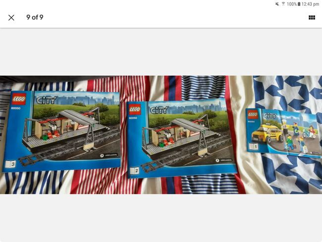 Lego city train and train station, Lego 60051 and 60050, Daniel Barton, City, Peterborough