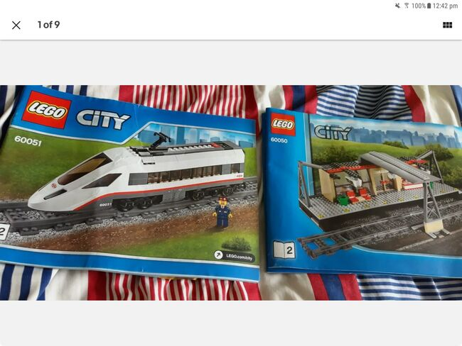 Lego city train and train station, Lego 60051 and 60050, Daniel Barton, City, Peterborough, Image 6