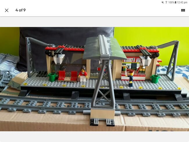 Lego city train and train station, Lego 60051 and 60050, Daniel Barton, City, Peterborough, Image 8