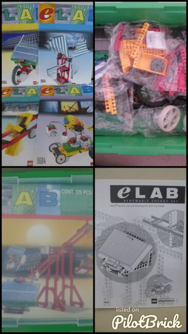 Lego eLab Renewable Energy Set II, Lego 9684, Neil Lyons, other, Ware, Image 7