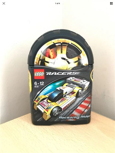 Lego Racers 8131 Raceway Rider Super Rare Retired Brand New Sealed, Lego 8131, Harrison Dann, Racers, Eastbourne