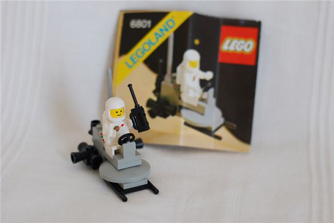 Lego Space 6801: Rocket Sled, Lego 6801, Jochen, Space, Radolfzell